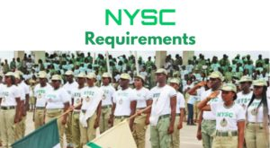 Nysc online registration requirements