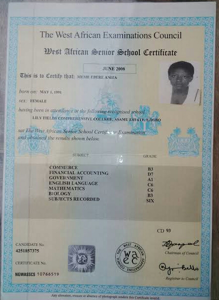 How To Collect Original WAEC Certificate and the Cost