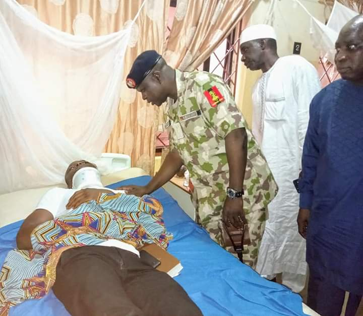 NYSC DG, visits injured Katsina Corps Members