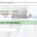 Institutions that have uploaded NYSC Senate List