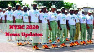 Nysc Batch A 2020 news updates