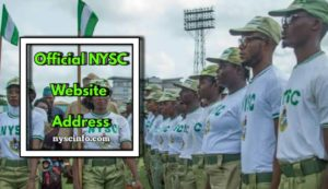 Nysc official Website Address